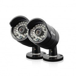 Swann Pro-H850 Twin Pack 720p HD Indoor/Outdoor 30m Night Vision Bullet Cam