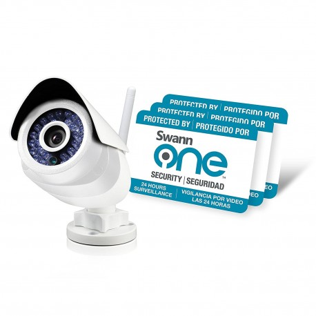 SwannOne SWO-SVC02K-UK SoundView Outdoor IP Camera - White