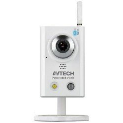 AVTECH AVN812 WiFi HD IP Camera - Instant Push Video to Phone/Tablet, 2 Way Sound