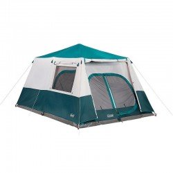Coleman INSTANT CABIN 10 Person Easy Pitch Tent With Fly - 60sec Pitch Time