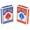 Bicycle Poker Size Standard Index Playing Cards [2 Packs: Red, Blue]