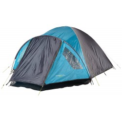 Yellowstone Ascent 4 Person Dome Tent - Blue