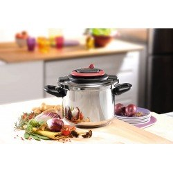 TEFAL P4370767 CLIPSO PLUS 6L PRESSURE COOKER - NEW UNBOXED RRP £140