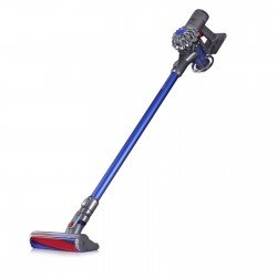 Dyson V6 Fluffy Cordless Vacuum Cleaner, 100W Blue Refurbished