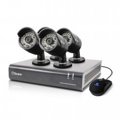 Swann DVR4-4400-UK 4 Channel 720p 500GB + 4 x PRO-A850 Cameras - DIY Kit