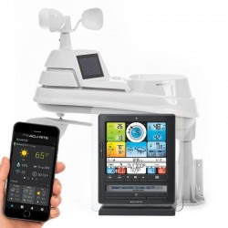 AcuRite 02085 Pro Color Weather Station with PC Connect, Rain, Wind, Temperature, Humidity, and Weather Ticker
