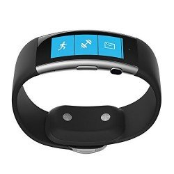 Microsoft Band 2 - Large, Black - Monitors Heart Rate, Activity, Calorie, Sleep