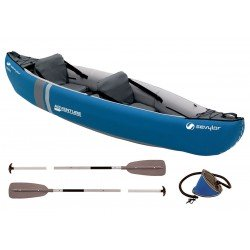Sevylor Adventure Kayak Kit - Paddles, Pump, Bag, Gauge - RRP £360