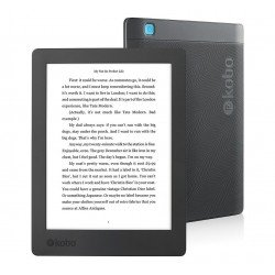 Kobo Aura H2O Waterproof eReader - WiFi, No-Glare Carta E Ink Touchscreen
