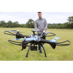 Trojan Extreme Drone Pro Edition with HD Gimballed Camera, Headless Mode, Return To Home