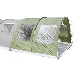 Skandika Canopy Gotland 5 - Green - Extend Your Gotland Tent by 5m
