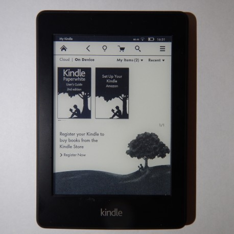 """Kindle Paperwhite (EY21) WiFi + 3G - 6"""" eBook Reader"""
