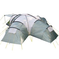 Skandika Korsika Family Dome Tent - 10 Person, Green RRP £399