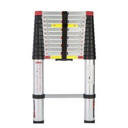 Spear + Jackson 3.8m 12ft6in Telescopic Air 12 Rung Aluminium Ladder