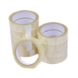 6 Rolls 25mm x 50M Sellotape