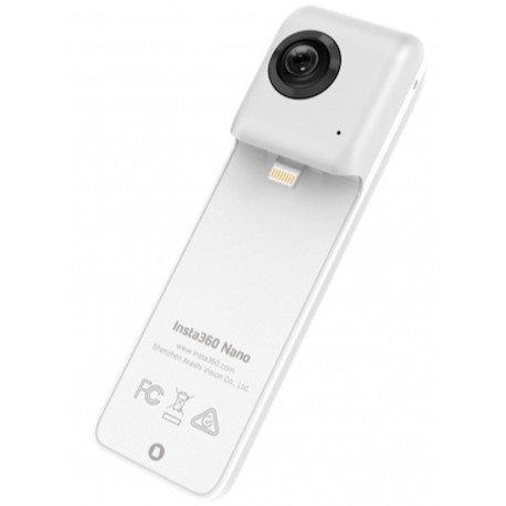 Insta360 Nano Panoramic Camera - Turn Your iPhone Into 360° VR Camera