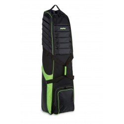 BagBoy NEW T-750 Golf Bag Travel Cover - Latest Model, Black + Lime - RRP £99