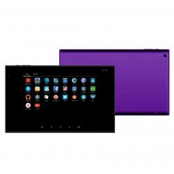 "Mikona Android Tablet 10.1"" 1GB OctaCore RAM 16GB Memory 2 Cameras MicroSD Slot - Purple"