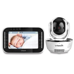 VTech VM343 Pan Tilt & Zoom Video Baby Monitor With 2 Way Sound - RRP £149.99