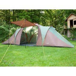 SKANDIKA Daytona XXL 6/9 Person Tent with Groundsheet, 3 Sleeping Pods - RRP £299