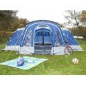Skandika Nimbus 8 Person Tent, 4 Sleep Pods, Large Living Area, Porch RRP £589