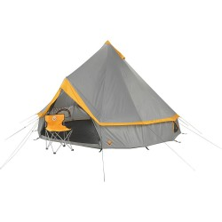 Grand Canyon Indiana - 8 Person Teepee Style Round Tent - Stone/Sand - RRP £230
