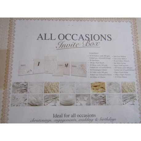 All Occasions Invite Box
