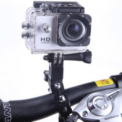 "Waterproof Sports Action Camera 1080p Full HD 30fps 12MP CMOS 2"" LCD"
