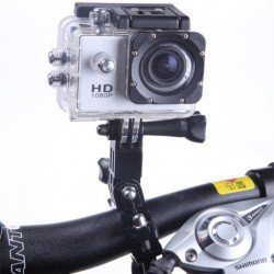 """Waterproof Sports Action Camera 1080p Full HD 30fps 12MP CMOS 2"""" LCD"""