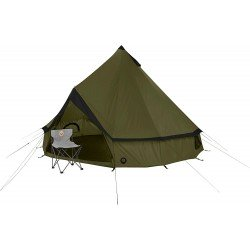 Grand Canyon Indiana - 8 Person Teepee Style Round Tent - Green - RRP £259