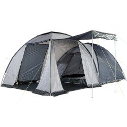Skandika Bergen 4 Person Dome Tent With Sleep Pod - Blue/Grey - RRP £209