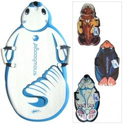 SNOW BOOGIE ARCTIC SLIDER ANIMAL FOAM SLEDGE - PENGUIN