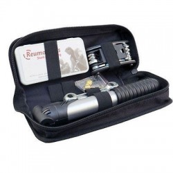 Bicycle Tyre Puncture Repair Kit With Multi-Tool & Quick Release Pump