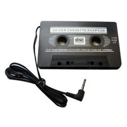Car Cassette Tape Adapter with 3.5mm Jack - iPhone, Samsung, Sony Mobile Phones