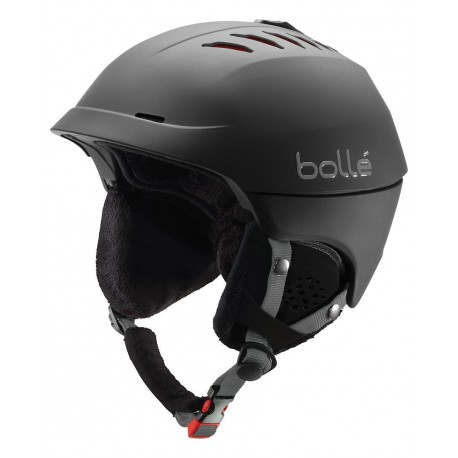 Bolle Snowboard or Ski Helmet Hybrid In-Mold/ ABS Click-to-Fit Black XL