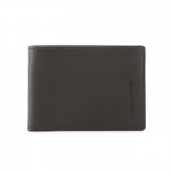 Piquadro - PU1392X1 Men's Wallet, Document Holder, Coin Pouch, Credit Card Slots Modus