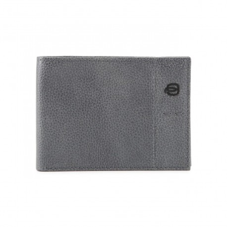 Piquadro - PU1392P15S Men's Wallet Flip-up ID, Coin Pocket, Credit Card Slots P15Plus