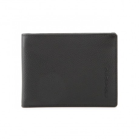 Piquadro - PU1241X1 Men's Wallet With 12 Credit Card Slots Pulse