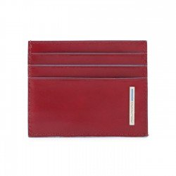 Piquadro - PU4218B2R Calfskin Credit Card Holder - RRP £63