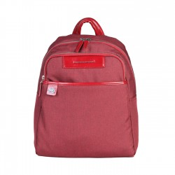 Piquadro - CA4029X3 Fabric & Leather 2 Compartment Backpack Rucksack