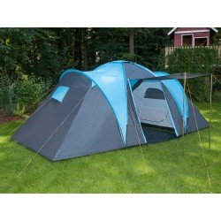 SKANDIKA HAMMERFEST 4 Person Tent with Groundsheet, 2 Sleeping Pods, Sun Porch
