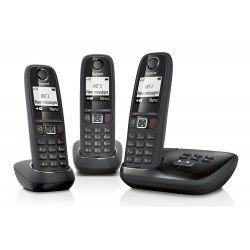 Siemens Gigaset AS405A Trio Digital Cordless Phone with Answering Machine